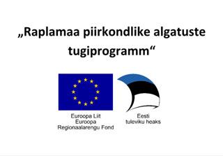 Raplamaa piirkondlike algatuste tugiprogramm